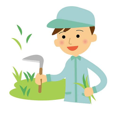 草刈り、庭掃除、伐採、除草