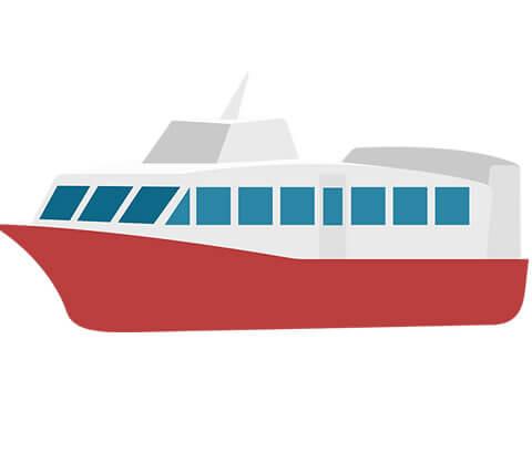 船の引き取り